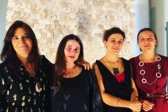 Fiorenza Pancino, Andrea Kotliarsky, Cristina D'Alberto, Elvira Keller