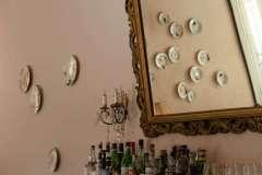 Piatti della esposta al Caffé Nove100, Faenza