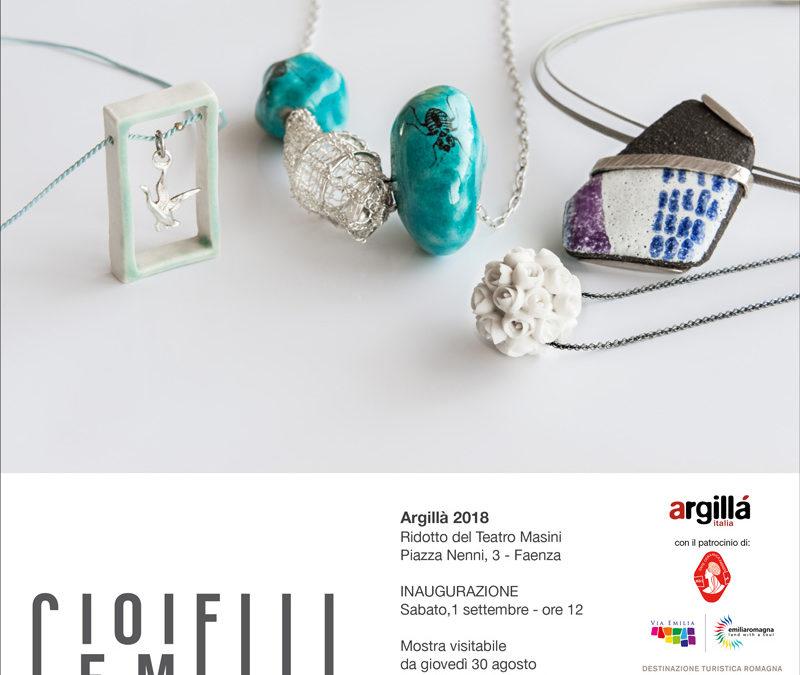 Gioielli Gemelli a Faenza ad Argillà 2018 – Articolo di Contemporary Italian Ceramic