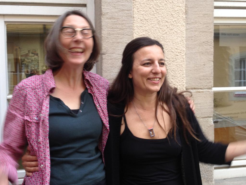 Alkie Oster e Elvira Keller