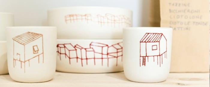 Elvira Keller ceramica d'uso